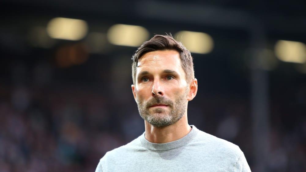 Sah ein ganz schwaches Spiel seiner Mannschaft: Fürths Trainer Stefan Leitl.