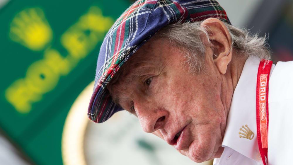 Feiert Jubiläum: Der dreimalige Formel-1-Weltmeister Jackie Stewart wird 80.