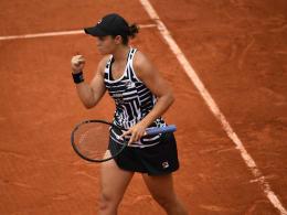 Verrücktes Match: Barty im Finale gegen Vondrousova