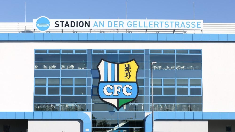 Das Stadion an der Gellertstraße