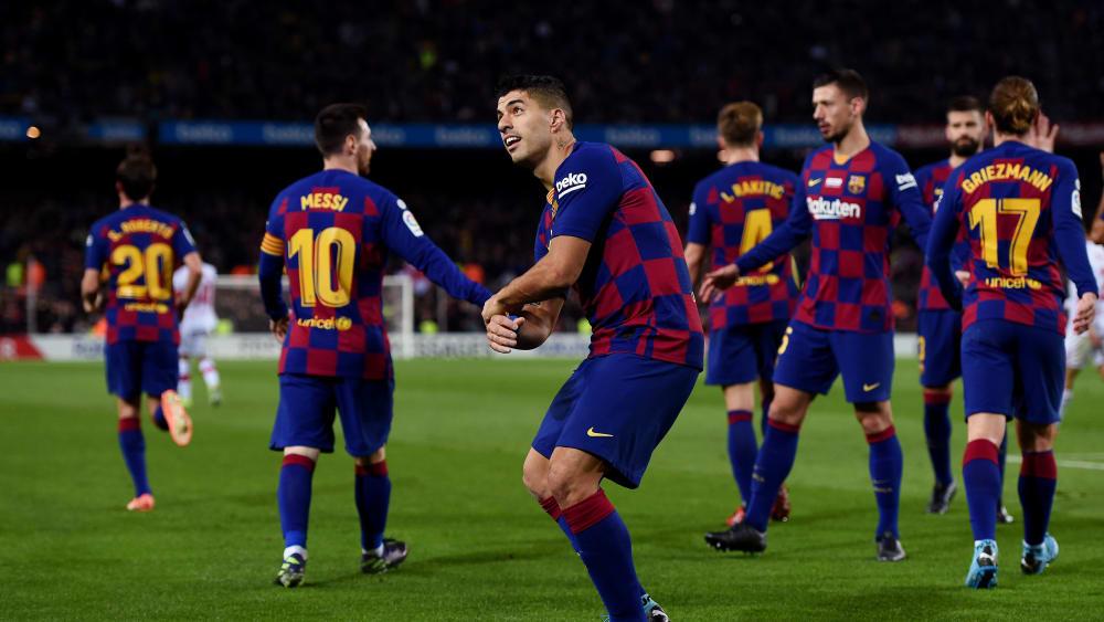 Der FC Barcelona steuert auf einen ungefährdeten Sieg über Mallorca zu.