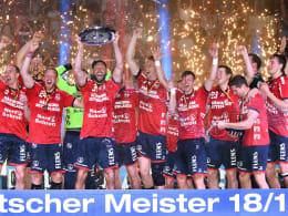 Flensburg ist wieder Meister - VfL Gummersbach steigt erstmals ab