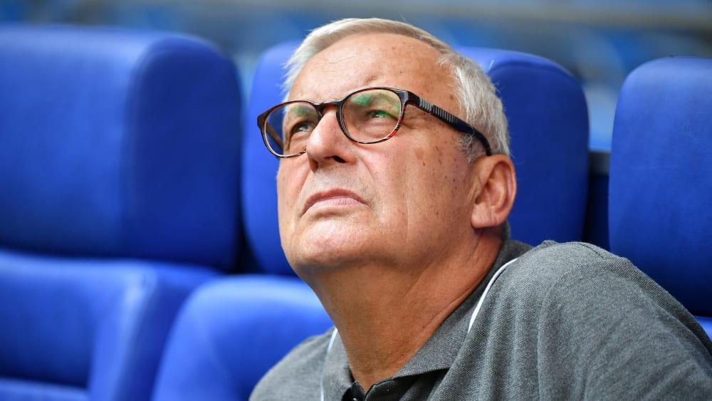 Hertha-Boss Werner Gegenbauer