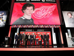 An sechster Stelle: Detroit Red Wings draften Moritz Seider