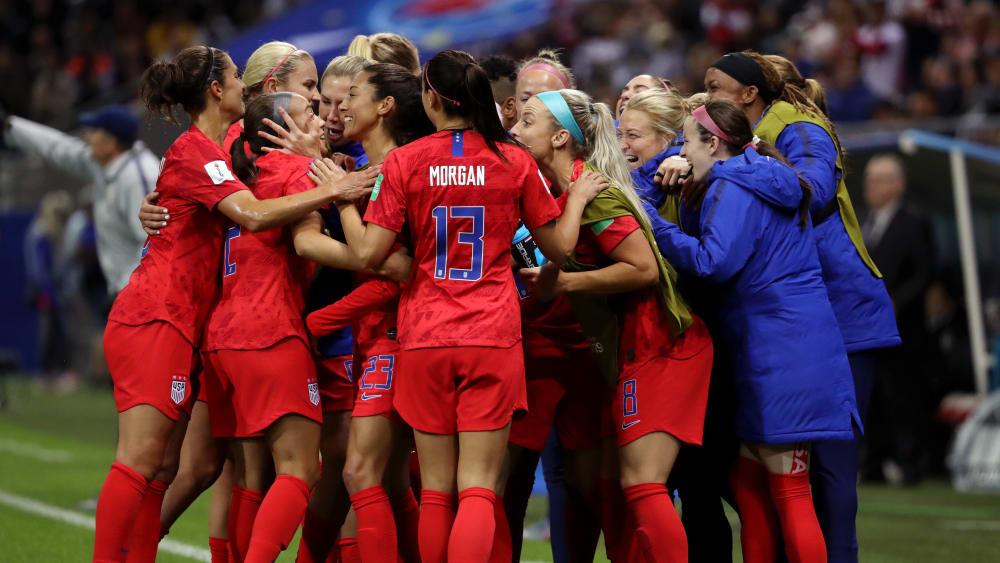 Die US-Ladies lieferten einen überragenden Auftritt ab.