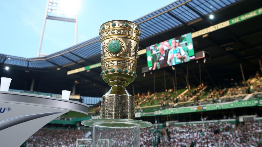 Der DFB-Pokal im Weserstadion