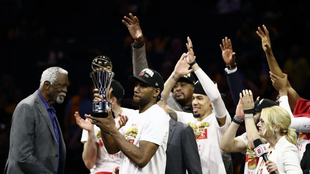 Kawhi Leonard wurde zum wertvollsten Spieler der Finals ausgezeichnet.