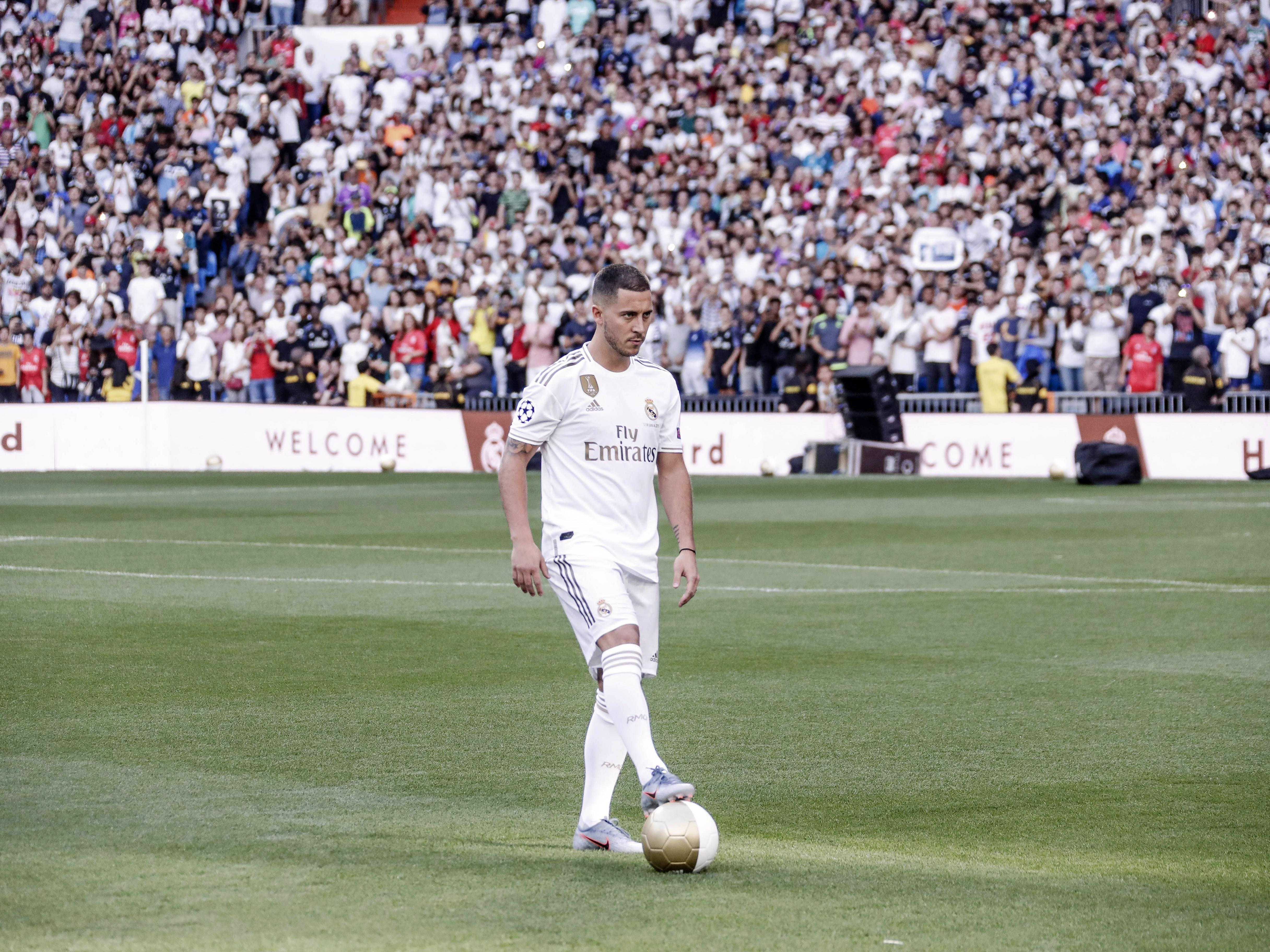 Er wusste die tobende Menge im Bernabeu bei Laune zu halten: Eden Hazard.