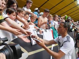 Elfmeter gegen Trapp, Selfies mit Sané: DFB-Fans erlebten viel Nähe