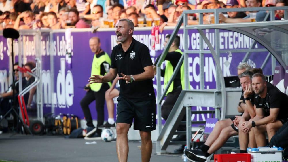 VfB-Trainer Tim Walter
