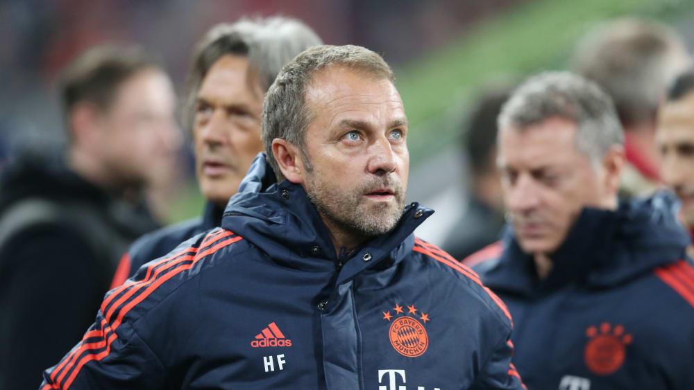 Es bleibt viel Arbeit: Bayern Münchens Interimscoach Hans-Dieter Flick.