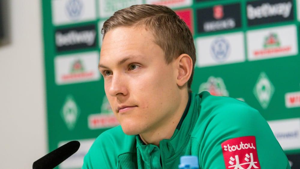Werder Bremens Ludwig Augustinsson.