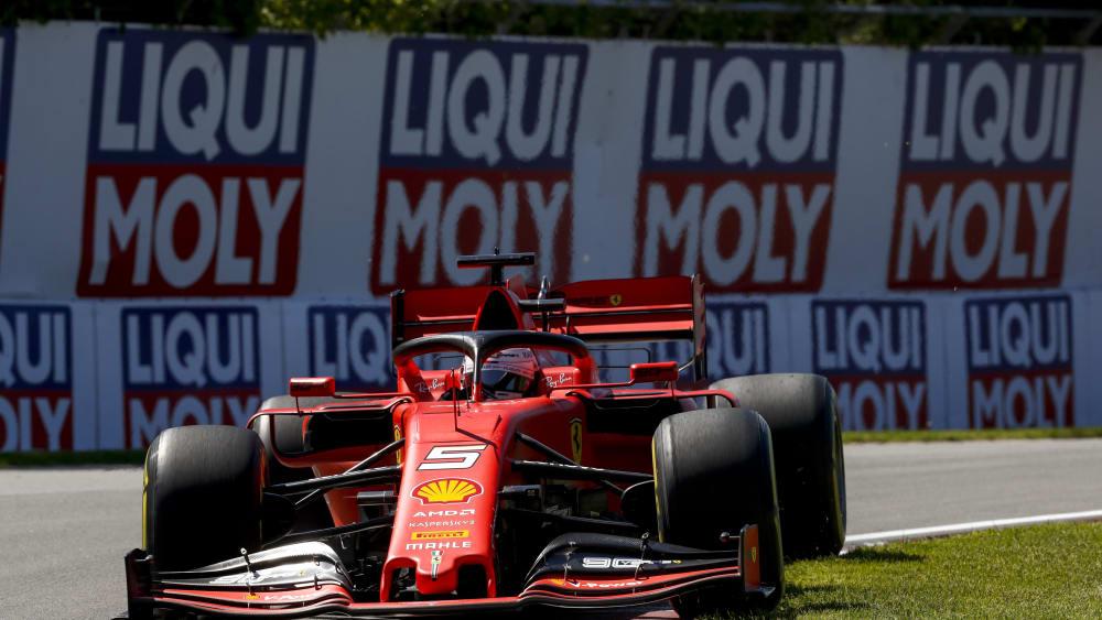 Kampfgeist und Ehrgeiz sind noch immer groß: Ferrari-Pilot Sebastian Vettel.