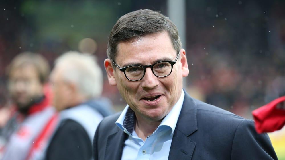 Freut sich über gute Zahlen des Sport-Club: Freiburgs Finanzvorstand Oliver Leki.