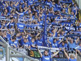RB-Protest geht weiter: Paderborn-Fans verteilen Flugblätter