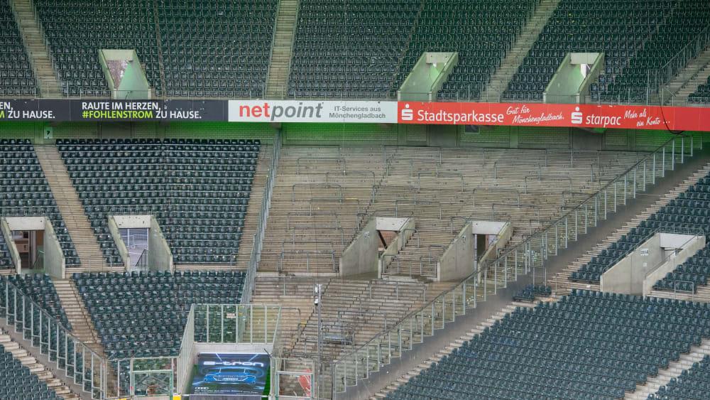 Die Stadien bleiben leer.