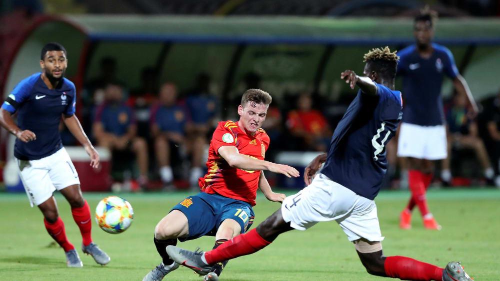 In der regulären Spielzeit gelang leicht dominanten Spaniern um den Dortmunder Sergio Gomez kein Tor.