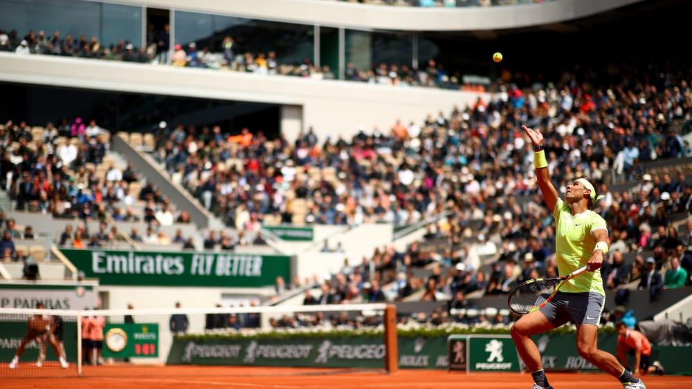 Rafael Nadal gegen Roger Federer