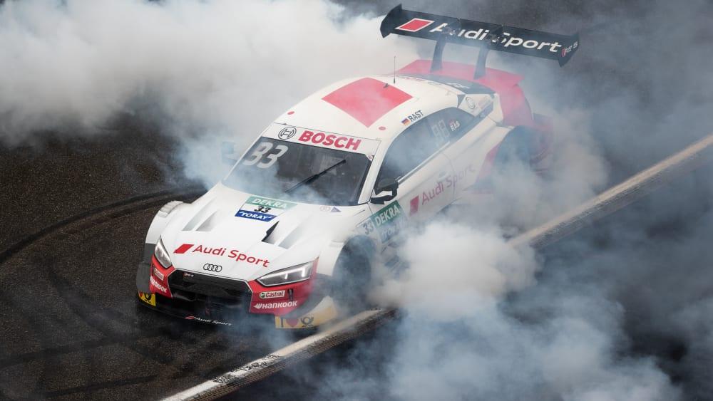 Überragende Saison, belohnt mit dem zweiten DTM-Titel: Audi-Pilot René Rast.