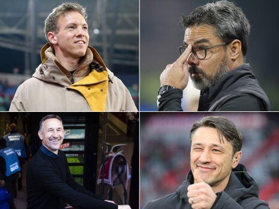 Die Bundesliga-Trainer der Saison 2019/20