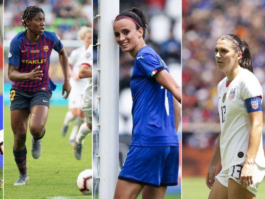Wang, Oshoala, Bonansea und Morgan: Nur vier von vielen Stars bei der Frauen-WM.