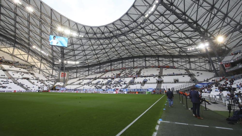 Marseilles Heimstätte: Das Stade Velodrome.