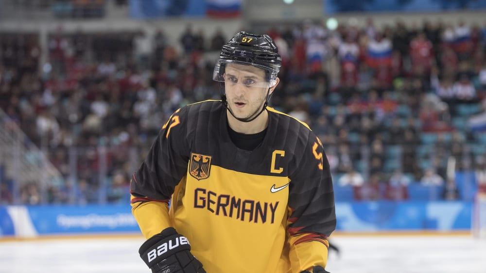 Marcel Goc gewann 2018 mit Deutschland in Pyeongchang die Silbermedaille. Am Saisonende wird der 36-Jährige seine Karriere beenden.