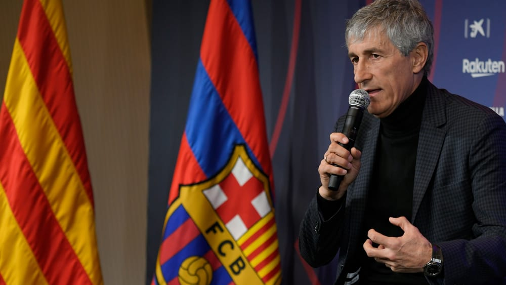 Quique Setien soll es nun beim FC Barcelona richten.