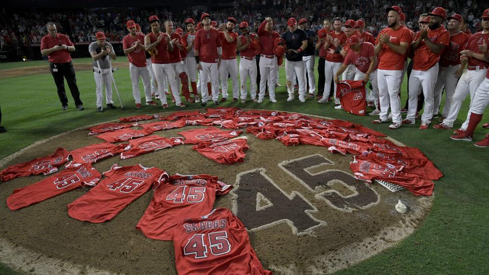 Los Angeles Angels gedenken Tyler Skaggs