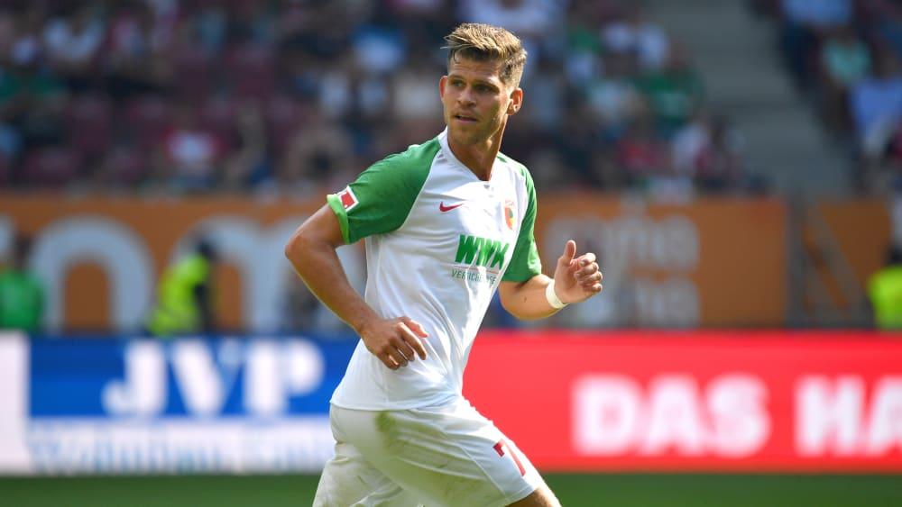 Stark in Form: Augsburgs Florian Niederlechner trifft auf seinen Ex-Klub Freiburg.
