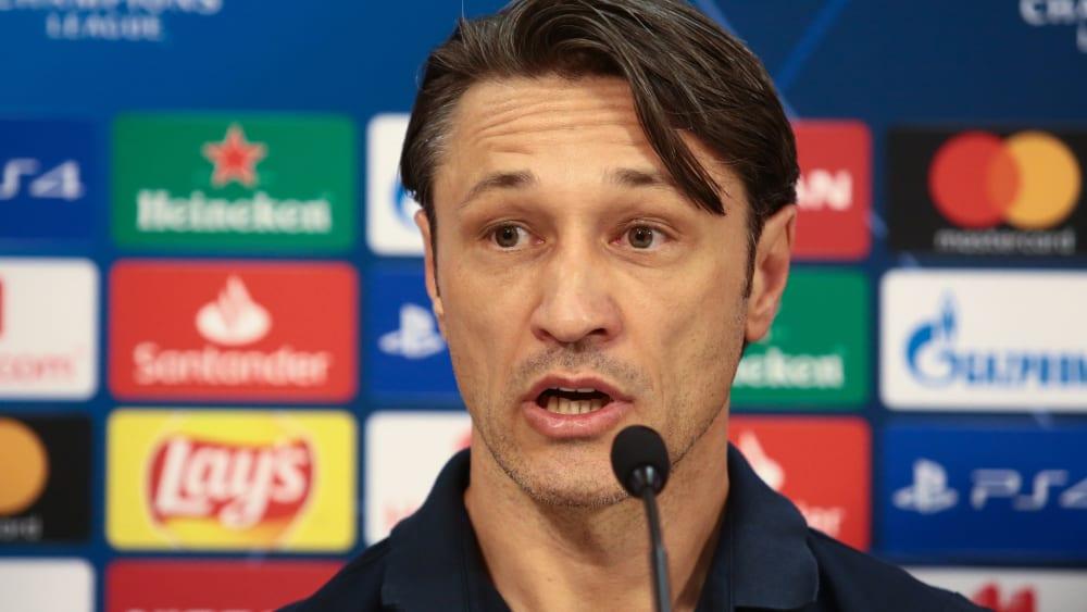 """Kovac: """"Ich stelle die Mannschaft auf"""" - Bayerns Trainer verweist in der Müller-Frage auf die Kaderdichte"""