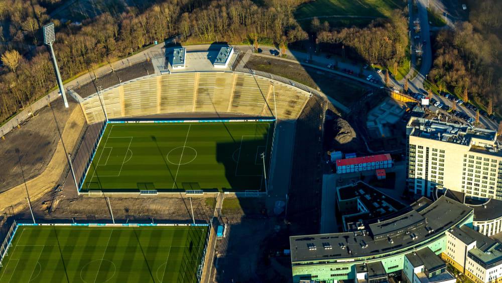 Der FC Schalke eröffnet sein Parkstadion neu