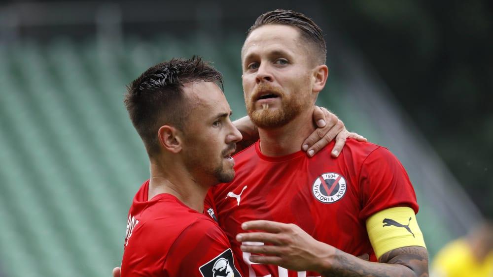 Viktoria Köln siegt 5:2 gegen Bayern II.