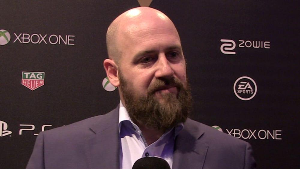 Andreas Heyden, Geschäftsführer DFL Digital Sports im Gespräch mit kicker eSport.