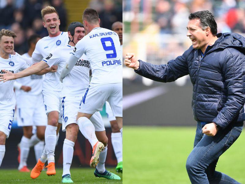Der Karlsruher SC steigt auf