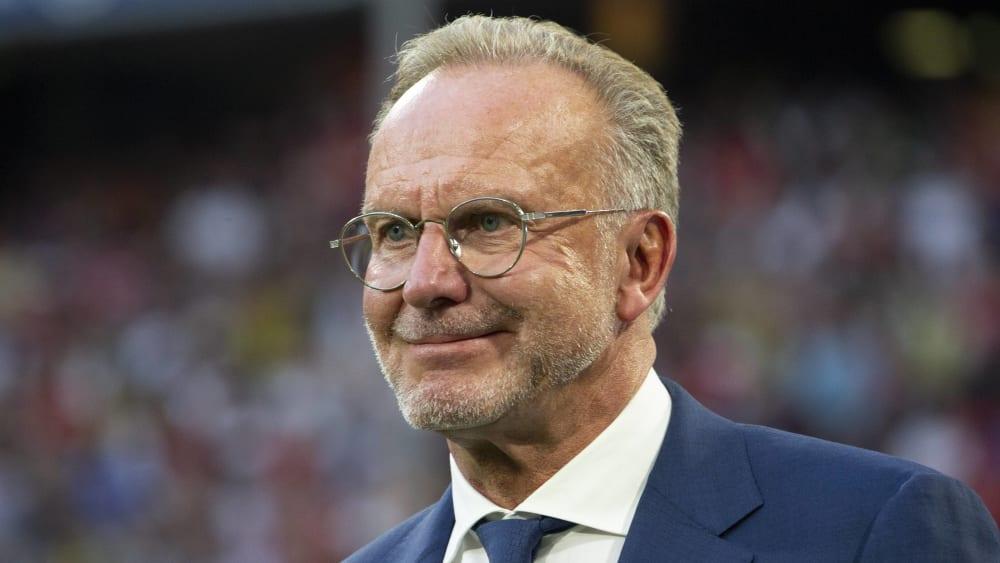 Vorstandsboss Karl-Heinz Rummenigge