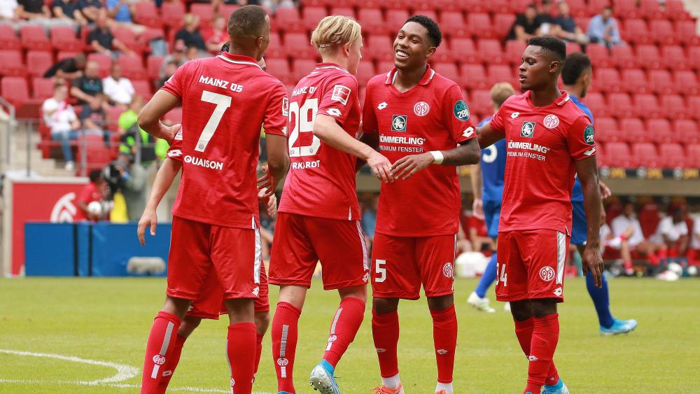 Versöhnlicher Abschluss: Mainz siegt gegen Everton.