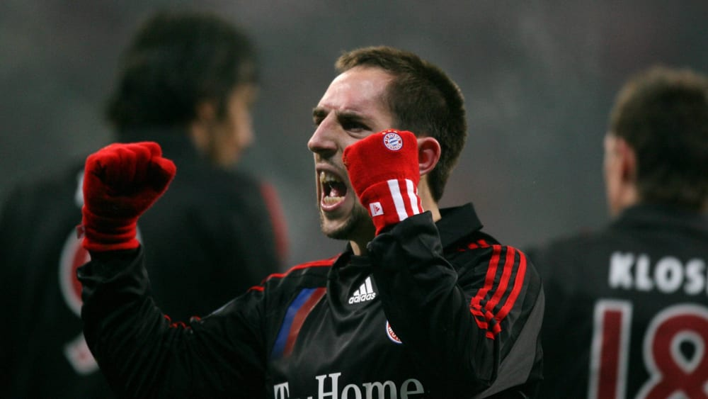 Wusste auf Anhieb zu überzeugen: Franck Ribery.