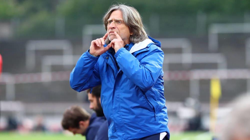 U-19-Trainer Norbert Elgert