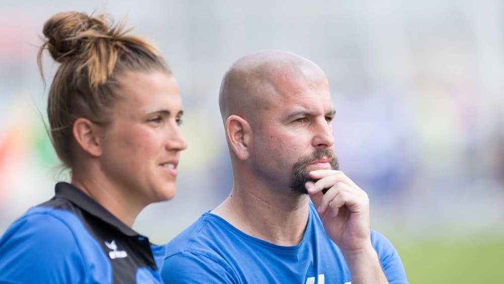 Übernehmen ab Januar den 1. FC Köln: Sascha Glass (re.) und Mirella Junker.