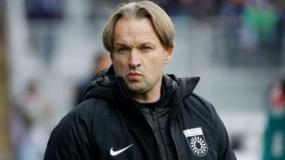 Kann nach der ersten Saisonhälfte nicht zufrieden sein: SGS-Sportdirektor Joannis Koukoutrigas.