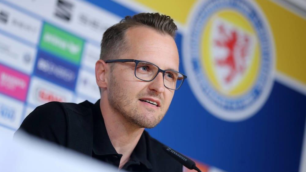 Stand den Journalisten bei seiner Vorstellung Rede und Antwort: Christian Flüthmann.
