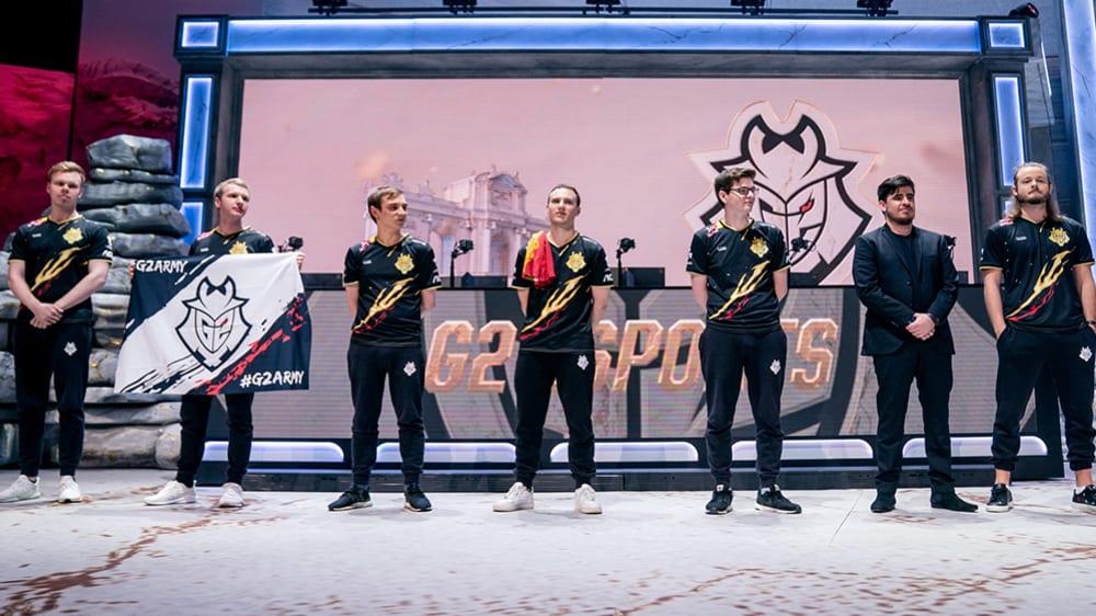 WorldsSemi: G2 Esports muss im Halbfinale gegen SK Telecom T1 ran.