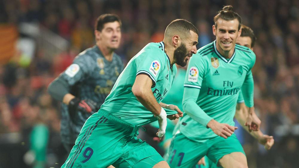 Er entriss Valencia in der Nachspielzeit den Sieg: Real-Torjäger Karim Benzema.