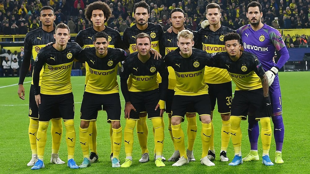 Borussia Dortmund wird ab der kommenden Bundesligasaison mit einem neuen Haupt- und Trikotsponsor auflaufen, Evonik wird wie hier nur noch in den Pokalwettbewerben zu sehen sein.
