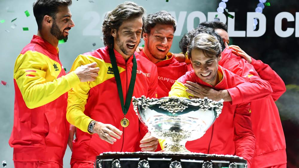 Spanien hat den Davis Cup zum sechsten Mal gewonnen.
