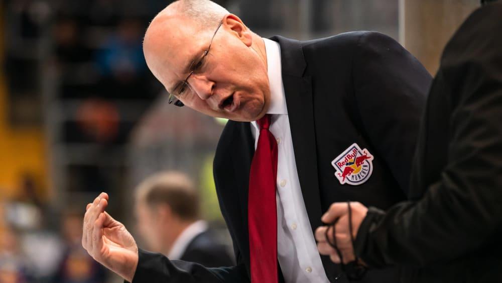 Münchens Coach Don Jackson bleibt trotz 1:5 im Hinspiel gegen Djurgardens optimistisch.
