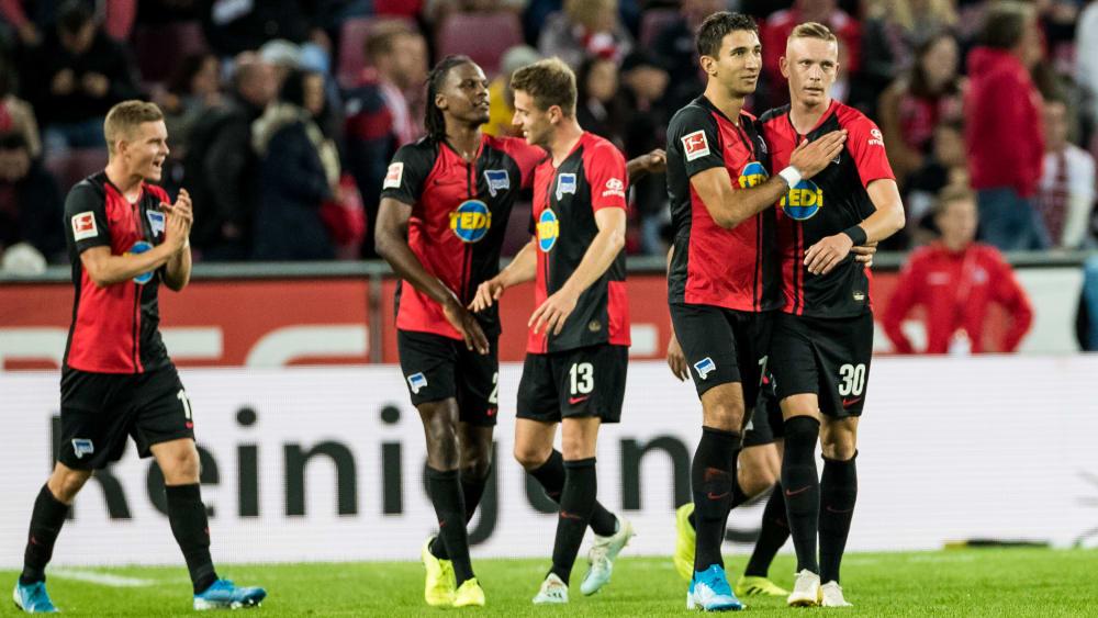 Zweiter Saisonsieg: Hertha jubelt in Köln - und ist jetzt angekommen in der Spielzeit 2019/20.