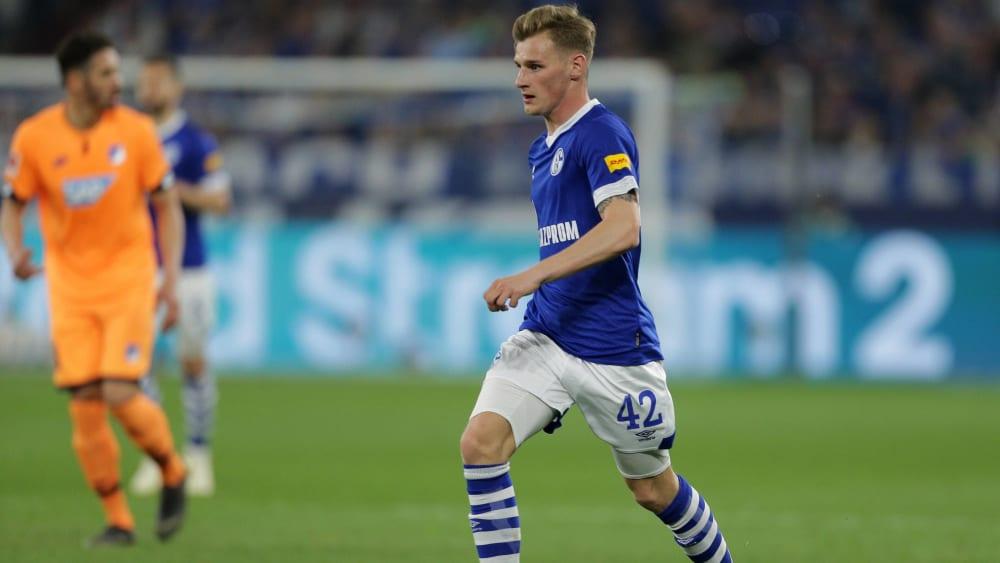 Jonas Carls im Spiel gegen Hoffenheim