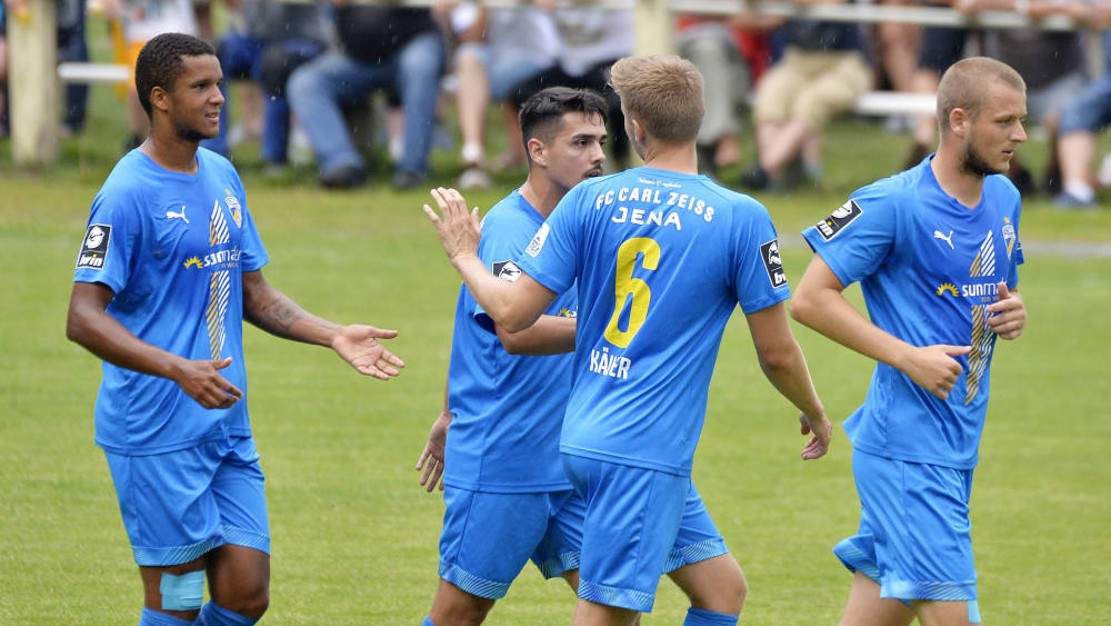 Pflichtaufgabe erfüllt: Carl Zeiss Jena gewinnt 5:0 gegen den FSV Schleiz.
